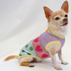 Hilda Jacquard Knit Dog Sweater