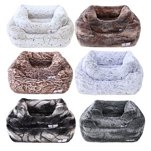 Luxy Mink Dog Beds- 6 Colors
