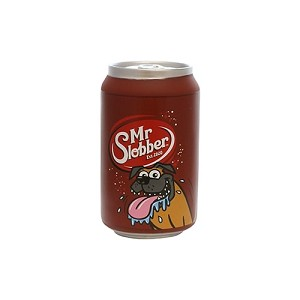Mr Slobber Silly Squeakers Soda Can Toy