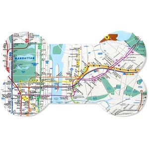 NYC Subway Place Mat