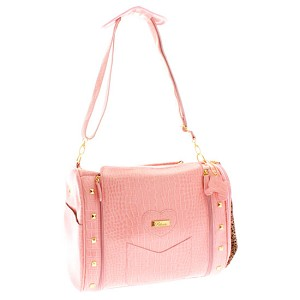 Abigail Pet Carrier Purse - Peony Pink