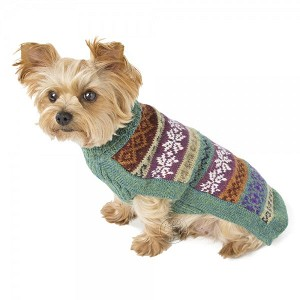 Gentle Cloud Handknit Alpaca Dog Sweater