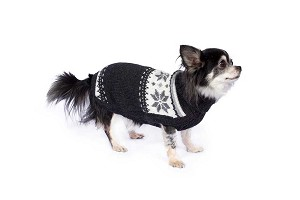 Paco's Design Handknit Alpaca Dog Sweater