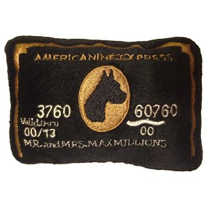 Americanine Express Credit Card Dog Toy