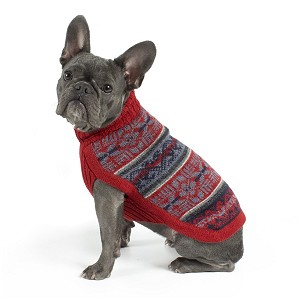 Andean Poetry Alpaca Dog Sweater