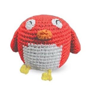 Angry Birdy Cotton Knit Dental Dog Toy