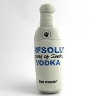 Arfsolut Vodka Dog Toy