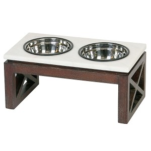 feeders diner cat the b compressed with home bowls gold wildlife feeding depot supplies cup pet double outdoors modern dog pets feeder n elevated platinum