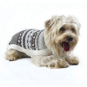 Aspen Chic Handknit Alpaca Dog Sweater