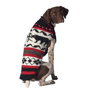 Black Bear Dog Sweater by Chilly Dog
