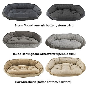 Microvelvet Crescent Beds- 10 Colors