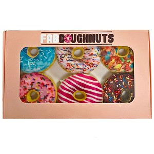 Box of Fab Doughnut Toys