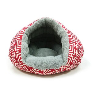 Burger Bed- Modern Red