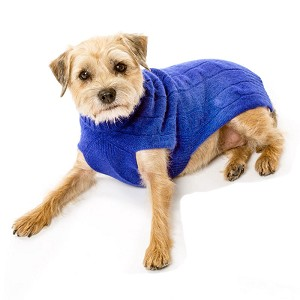 Cashmere Dog Sweater- Royal Blue