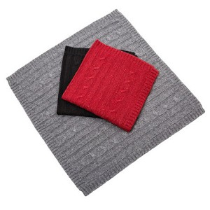 Cashmere Dog Blankets - Gray, Black, Burgundy