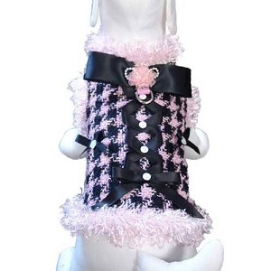 Chewnel Houndstooth Dressy Dog Harness