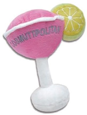 Cosmuttpolitan Dog Toy