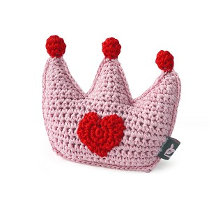 Crown Crochet Dog Toy