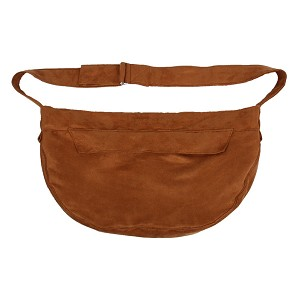 Cuddle Dog Carrier by Susan Lanci- Bronze Luxe Suede