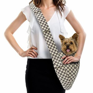 Cuddle Dog Carrier by Susan Lanci - Windsor Check