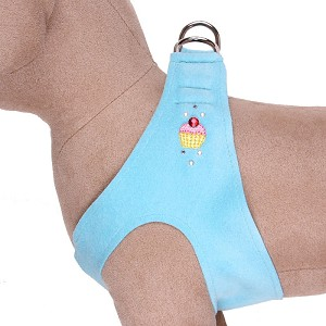Cupcake Crystal Step-In Dog Harness- 20 Colors