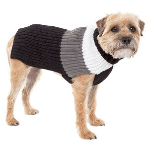 Deer Valley Wool Dog Sweater - Black