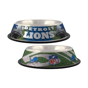 Detroit Lions Dog Bowl