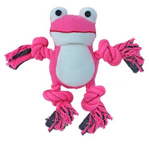 Diva Froggy Rope Dog Toy