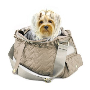 Fab Messenger Bag by Dogs of Glamour- Khaki
