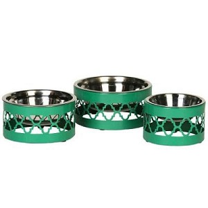 Ellis Dog Bowl- Green