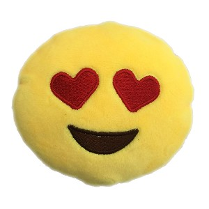 Love Eyes Emoji Dog Toy