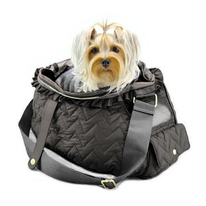Fab Messenger Bag by Dogs of Glamour- Black