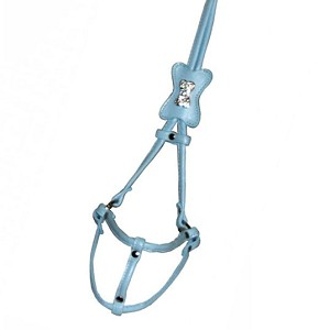 Glamour Bone Step-In-Harness - Blue
