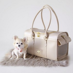 Grand Voyager Dog Carrier- Cream