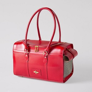 Grand Voyager Dog Carrier- Red