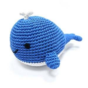 Happy Whale Dog Toy
