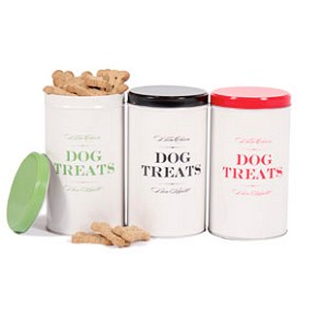 Bon Chien Treat Tins by Harry Barker