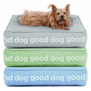 """Good Dog"" Eco-Friendly Dog Bed by Harry Barker"