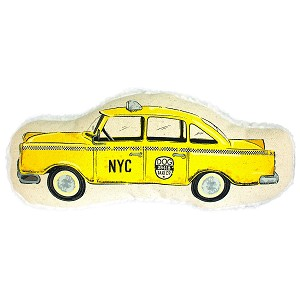 NYC Taxi Cab Dog Toy