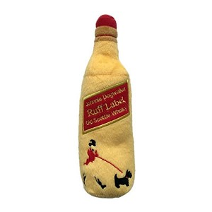 Johnnie Dogwalker Ruff Label Scottie Whisky Toy