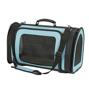 Kelle Dog Carrier by PETote - Turquoise and Black