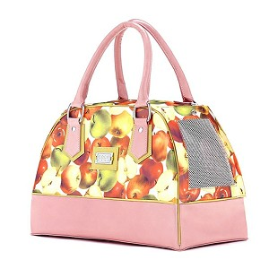 Lilly Bel Air Dog Carrier- Apples