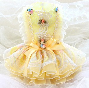 Little Miss Sunshine Couture Dog Dress