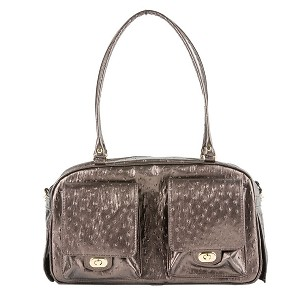 Marlee Dog Carrier- Bronze Ostrich