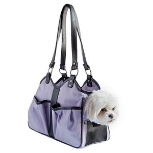 Metro Classic Dog Carrier by PETote - Lilac