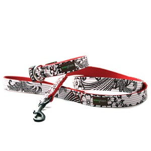 Mi Corazon Oilcloth Dog Leash