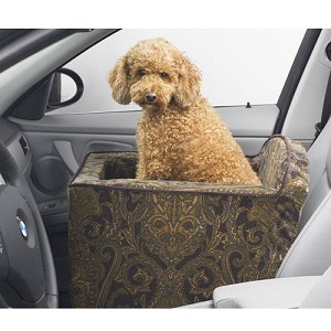 Microvelvet Car Booster Seat for Dogs - Windsor