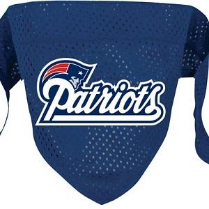 huge selection of d0ec8 7a045 New England Patriots Dog Bandana