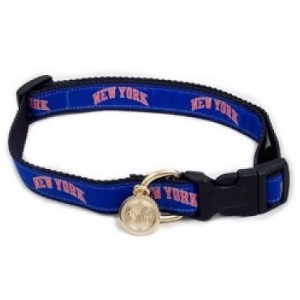 New York Knicks Ribbon Dog Collar