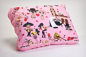 Pink South of the Boarder Wedding Bells Dog Bed by Paul Frank